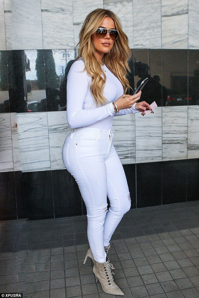 A new Khlo: Khloe Kardashian, seen here on Tuesday, is removing the Daddy tattoo she has o...