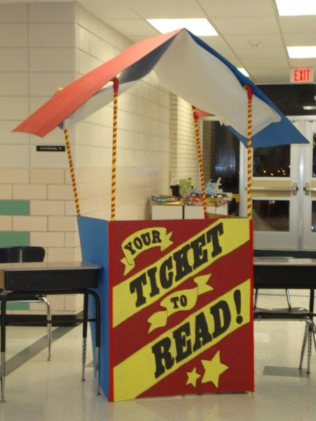 Must build a ticket booth!!!!