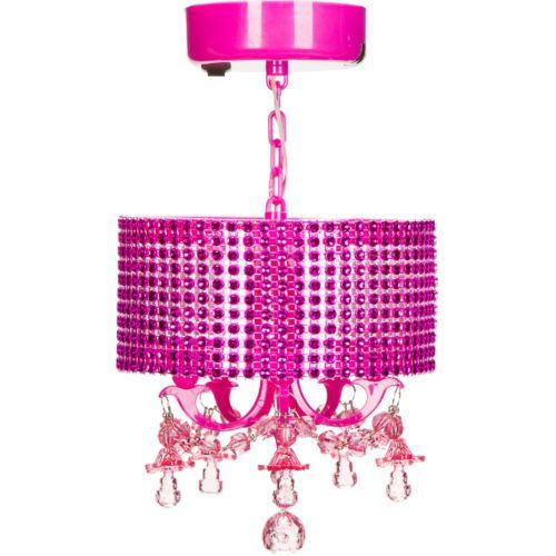 School Locker Chandelier Pink