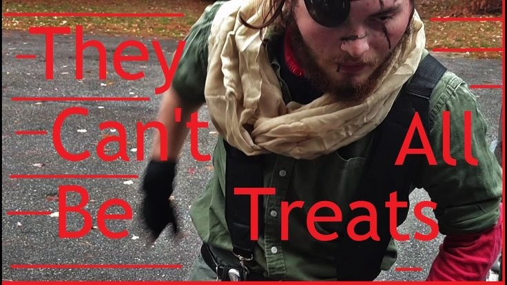 A Halloween mashup of trick or treating and Metal gear solid. https://www.youtube.com/watch?v=Pa6a7IizGyU
