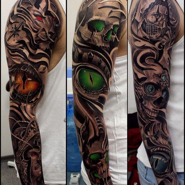 #arm #drozdovtattoo #tattooinstartmag #tattoostyle #chicano #tattooart…