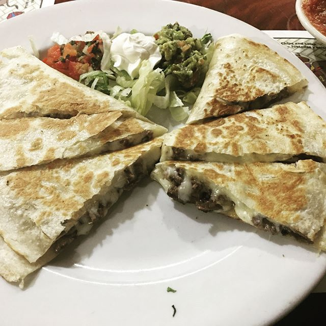 Dinner from Wednesday night!  #quesadilla #carneasada #chickensalad #pollo #mexicanfoodporn #mexicanfoodislife #mexicanfood #foodoftheday #foodofinstagram #foodpornshare #foodiegram #foodpics #montereyca #montereybay #montereyeats #montereypeninsula #831restaurants #destination831 #d831 #montereybaylocals - posted by Destination 831 https://www.instagram.com/destination831 - See more of Monterey Bay at http://montereybaylocals.com