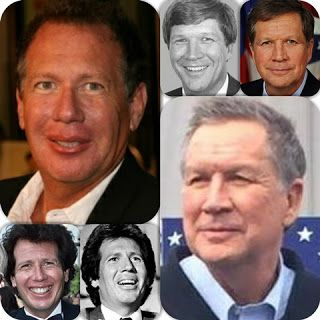 #GarryShandling looks like #JohnKasich lookalike Same Person in Conspiracies with Comedies within Politically Politicians