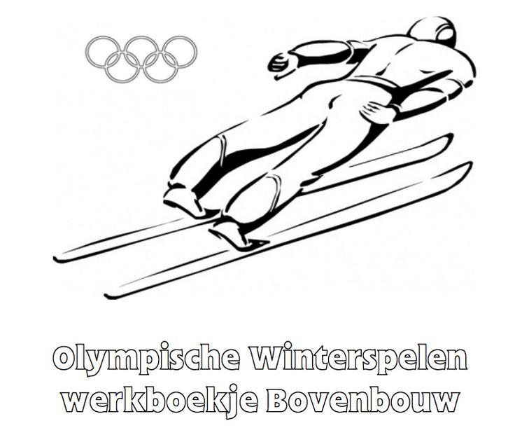 Olympische Winterspelen Werkboekje Bovenbouw