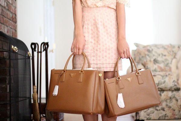 Bag Baby : Prada Large Calfskin Framed Tote | Shoes\u0026amp;Bags ...