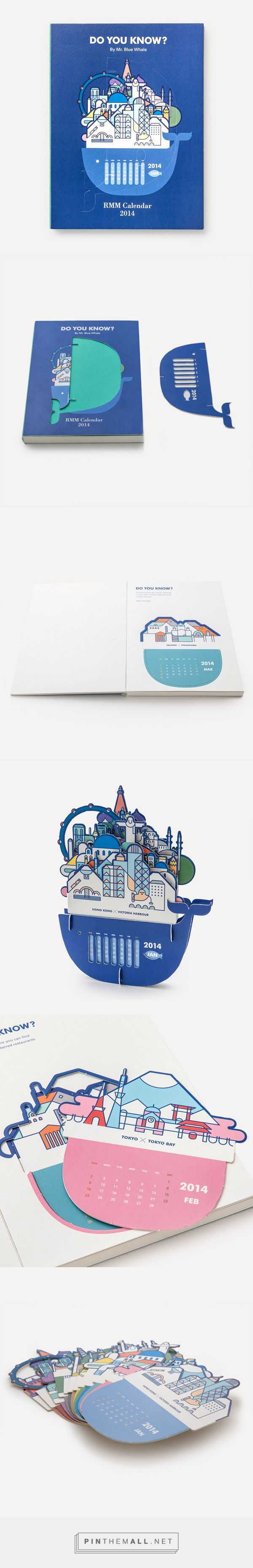 RMM Calendar 2014, Do you know? by Mr. Blue Whale | Readymade Objects Shop - created via http://pinthemall.net