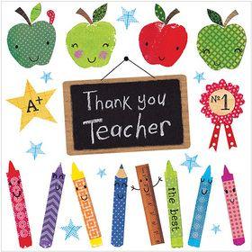 S299 Thank You Teacher  www.gailscards.com.au