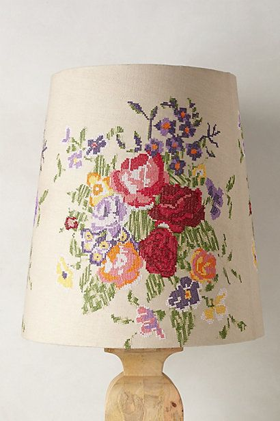 Meadow Rose Lamp Shade #anthropologie