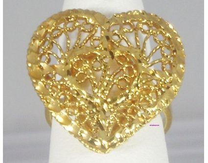 #Okanjo                   #ring                     #Heart #Spanish #Lace #Filigree #Ladies #Fashion #Ring #Size                  Heart Spanish Lace Filigree Ladies Fashion Ring Size 7                                                  http://www.seapai.com/product.aspx?PID=1722826