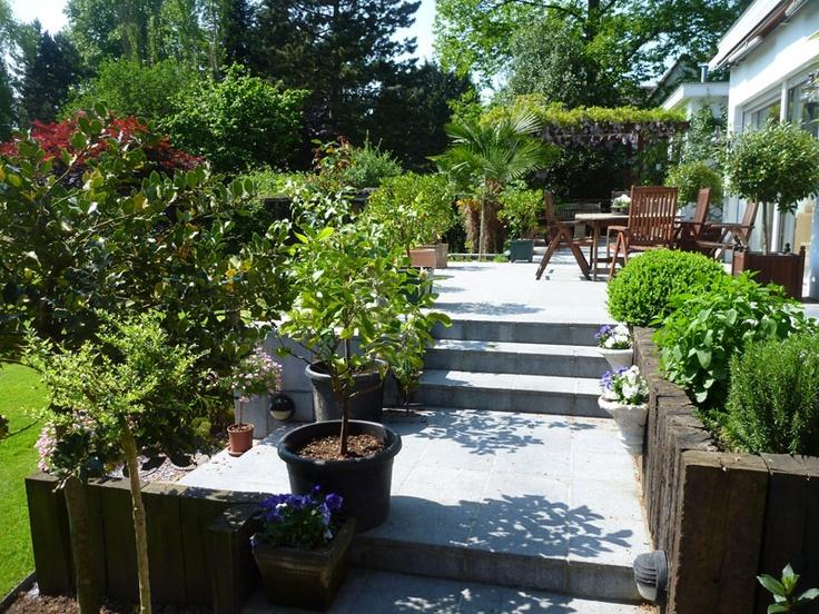 Les 25 meilleures idées concernant patio en pierre bleue sur ...