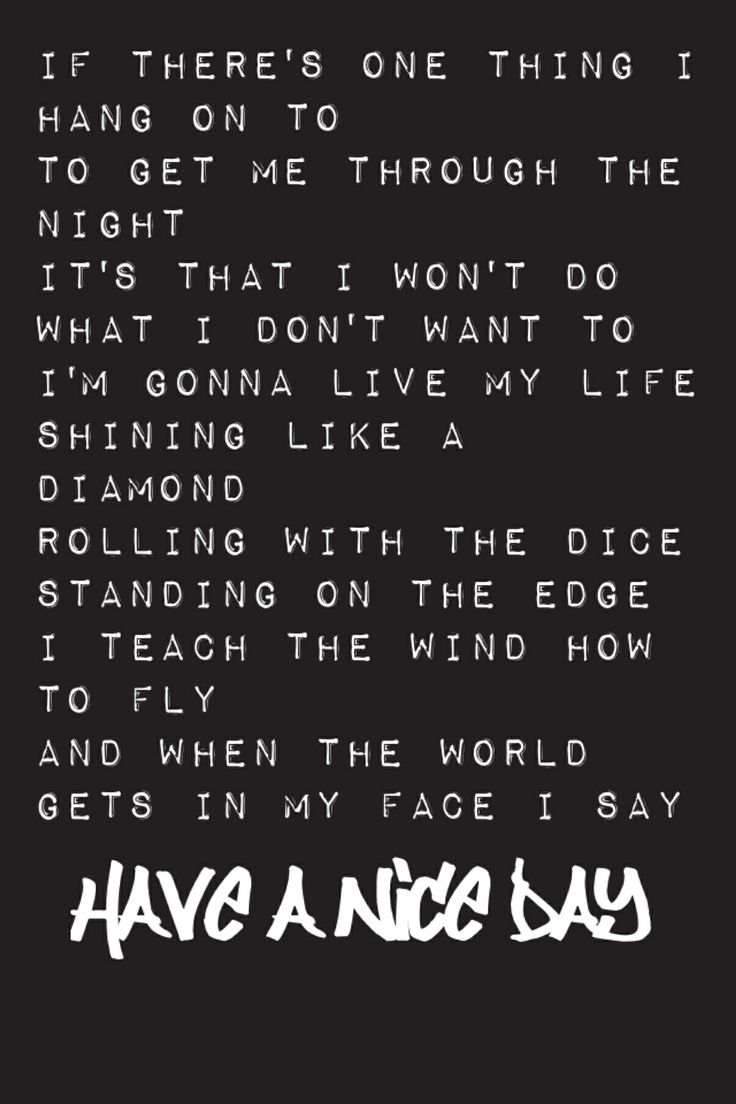 Bon Jovi - Have A Nice Day Lyrics | MetroLyrics