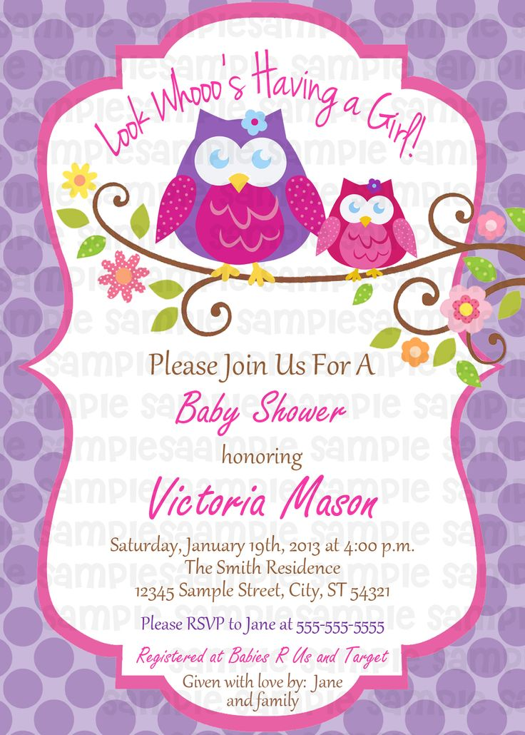 73 best Baby Shower Invitations images on Pinterest Baby shower - how to word a baby shower invitation