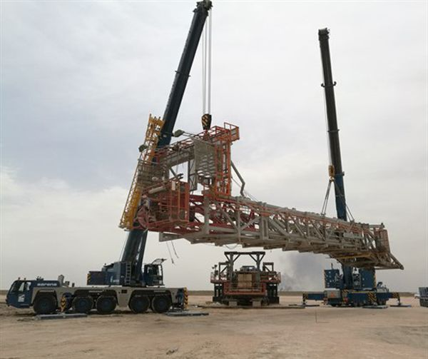 Sarens transports and installs oil rig in Iraq. We publish all the latest information from this industry. Read full news