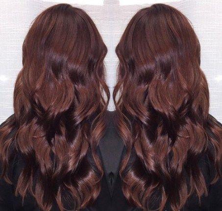 Brownish Black Cherry Hair