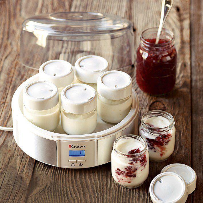 Yogurt Maker —making homemade yogurt would be so much easier with this