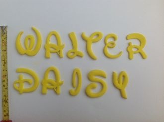 disney font magical letter cutters