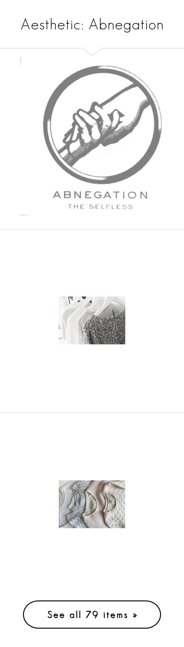 """""""Aesthetic: Abnegation"""" by lindsayisamermaid ❤ liked on Polyvore featuring sliki, pictures, divergent, hair, abnegation, backgrounds, quotes, text, phrase and saying"""