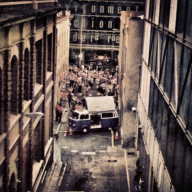 "@the_conman's photo: ""#adelaide #adelaidefringe #adelaidefringe2013 #waymouth #street #streetparty #tgif #friday #beer #vw #van"""