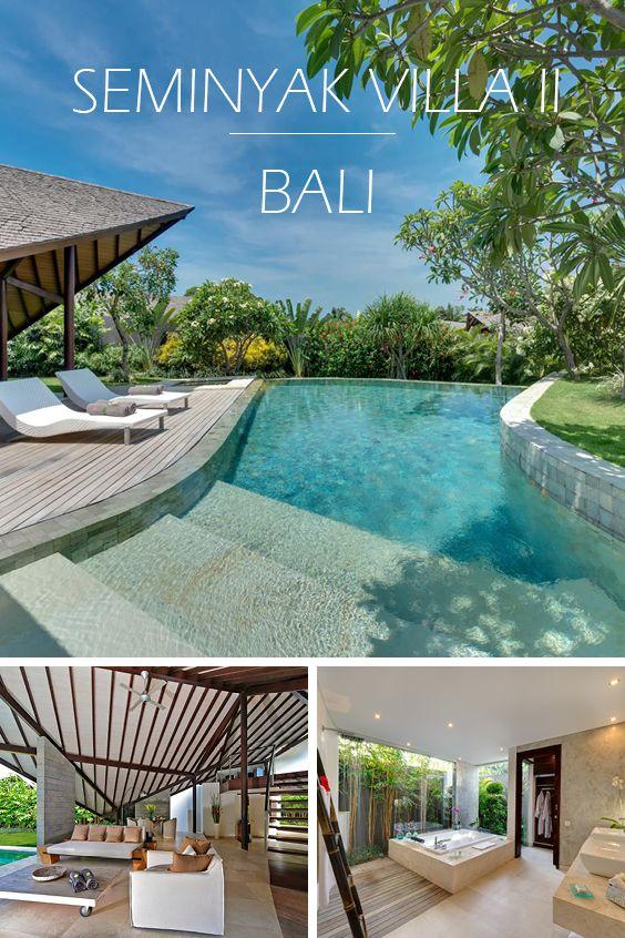 SEMINYAK VILLA II | BALI - Luxus-Ferienvilla mit 2 Schlafzimmern, Teil eines privaten Villen-Anwesens