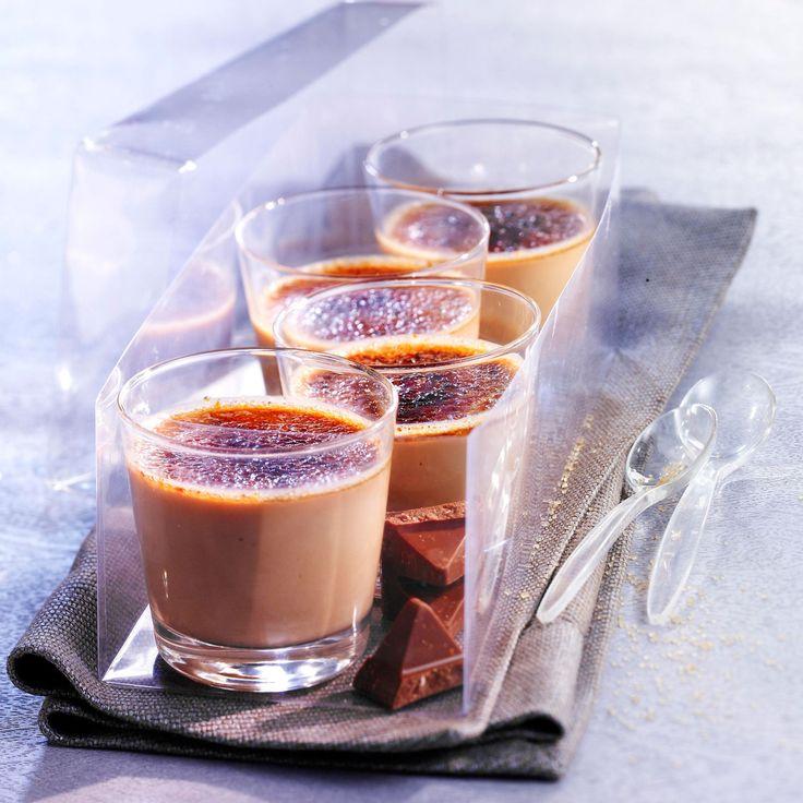 Découvrez la recette de la crème brûlée au Toblerone
