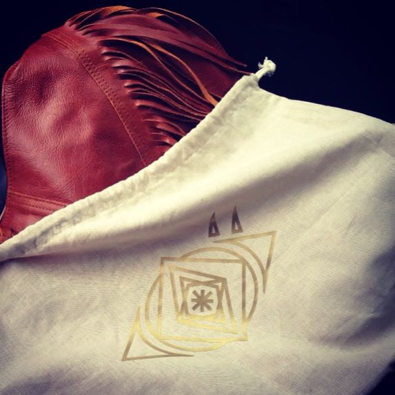 Our Hemp linen bags for our Warrior tassel bags!!!