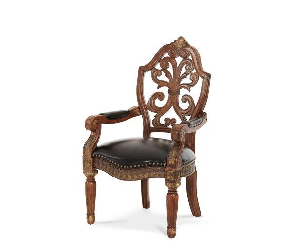 Writing Desk Chair|Villa Valencia®| Michael Amini Furniture Designs | Amini .com