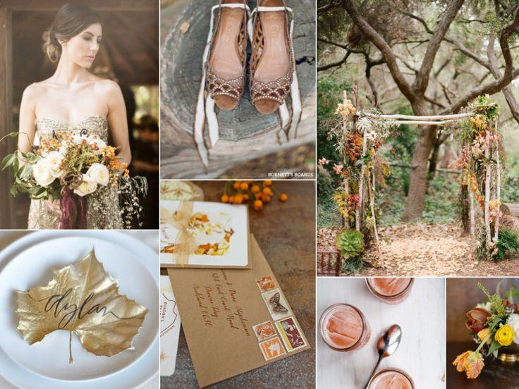 autumn wedding palette from burnett's boards