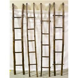 Qing Chinese Bamboo Ladders