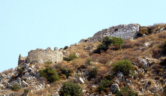 Middle #Byzantine #Acropolis at Pollyrhenia, #Kissamos, Chania Prefecture, #archaeology