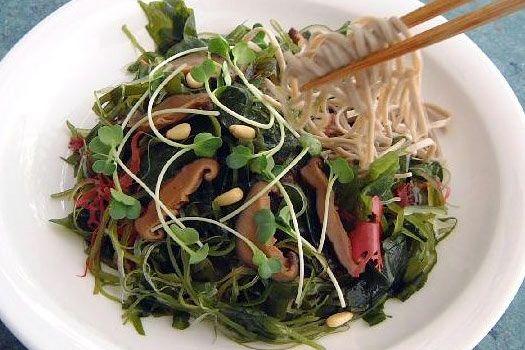 サラダ蕎麦【salad soba】