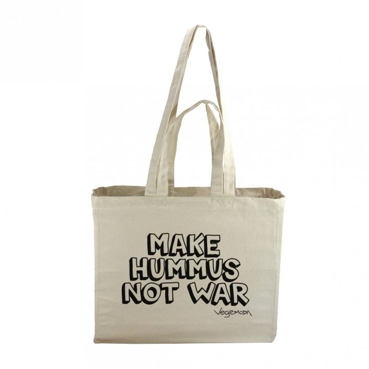 "Torba ""Make Hummus Not War"""
