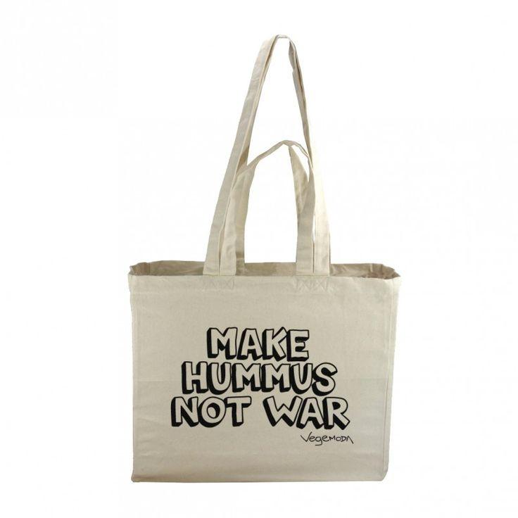 "Torba ""Make Hummus Not War"""