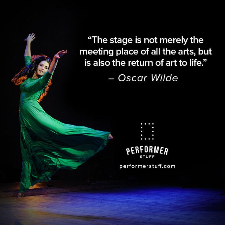 Dance Performance Quotes: Best 25+ Theatre Quotes Ideas On Pinterest