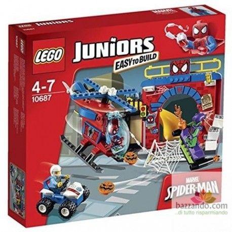 LEGO - 10687 Il Nascondiglio di Spider-Man