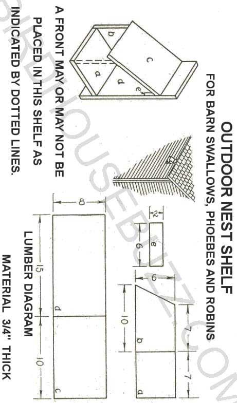 58 Best Images About Bird House Plans On Pinterest Wood