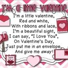 Your students are sure to LOVE this sweet Valentine's Day Pocket chart poem/activity for your classroom!Included is the following:1. Pocket Char...