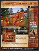 Summer 2011 Newsletters and Features, Canadian Timberframes