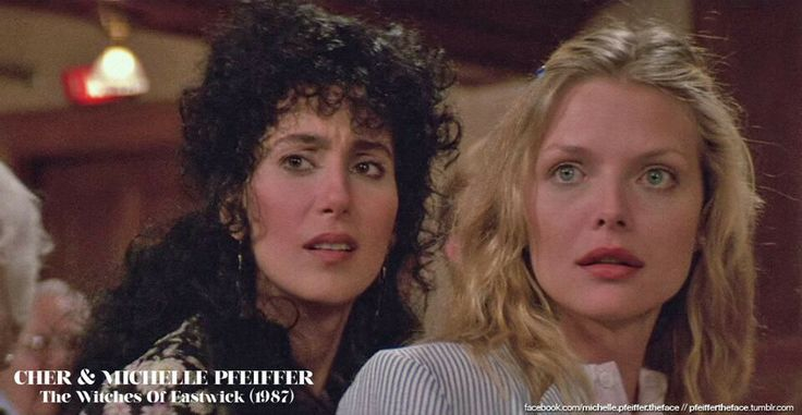 Michelle Pfeiffer and Cher