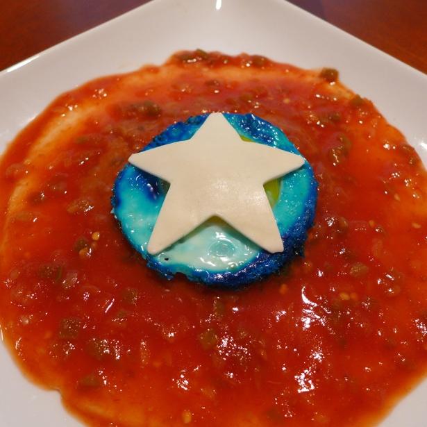 Prepárate un desayuno con forma del Escudo del Capitán América