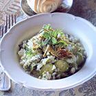 Een heerlijk recept: Risotto met asperges artisjokken en courgette