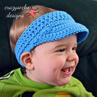 Golf Visor #crochet pattern by @Danyel Pink Designs