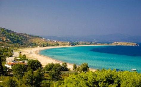 Beach Area http://www.antigonibeach.gr/experience/beach-pool