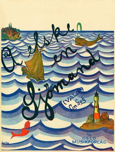 A Elske en Sjomand - Anonymous Prints - Easyart.com