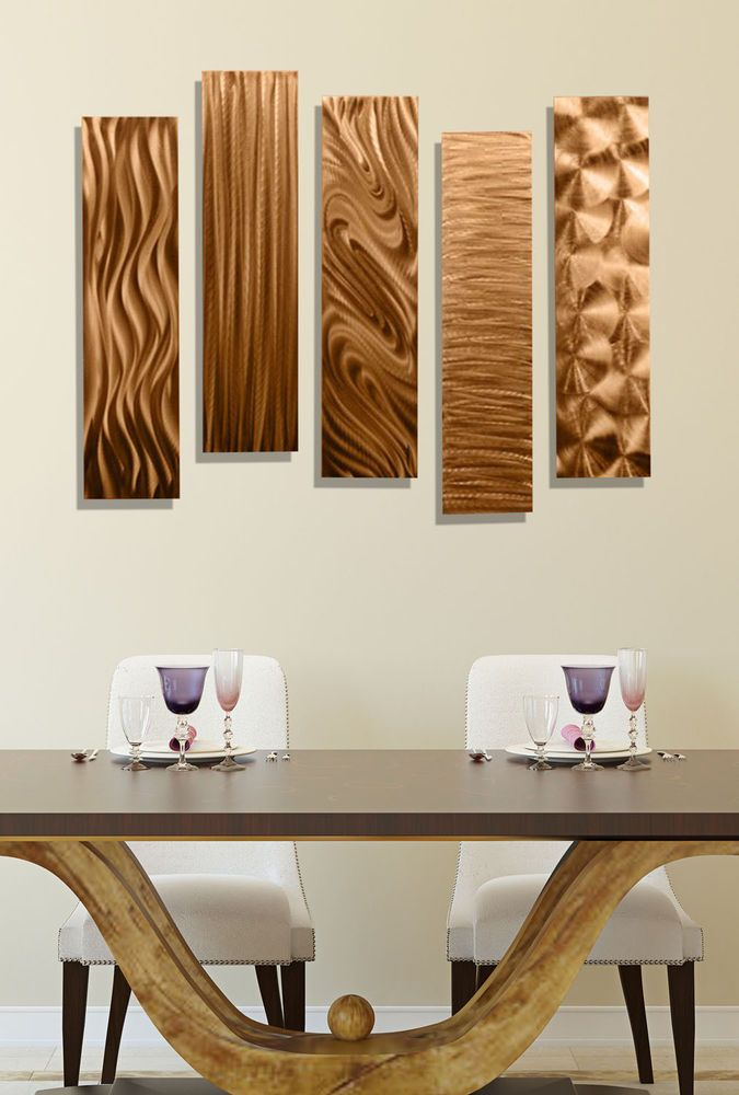 Beautiful Copper Wall Decor Accents, Wall Art, Sculpture - 5 Easy ...