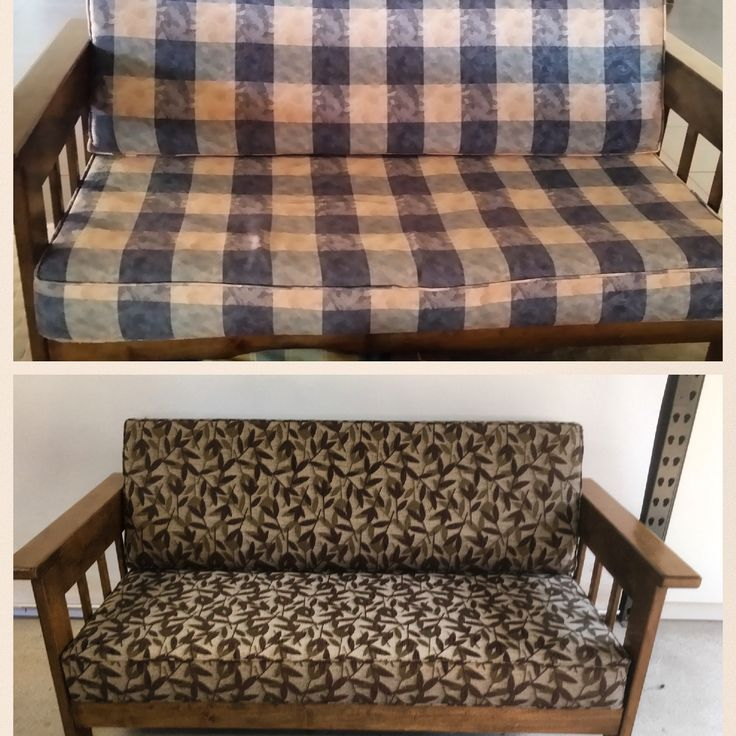 Reupholstered in Warwick fabric.