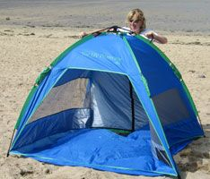 Opening sequence Shelta Beach Tent from Sunproof UK. Sequence 1 to 8 is & 20 best Sunproof UV beach tents and beach umbrellas by Shelta ...