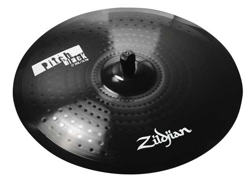 Zildjian Pitch Black Cymbals...