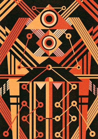 Ben Newman Illustration | Vector geometric abstract illustration design