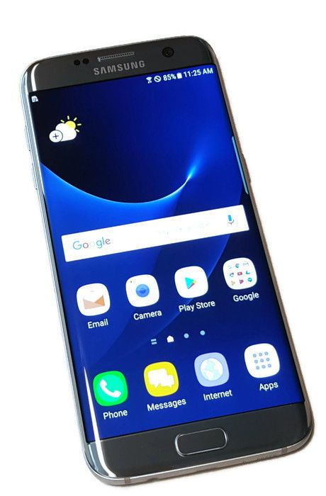 US Cellular Samsung Galaxy S7 edge Silver 32GB Clean ESN Smartphone Phone #9032 #Samsung #Smartphone