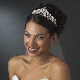 Bridal tiara Vivian - Georgia Dristila Accs